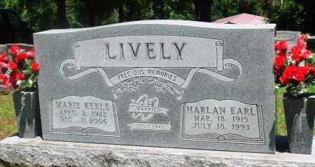 KEELE LIVELY, MARIE - Boone County, Arkansas | MARIE KEELE LIVELY - Arkansas Gravestone Photos