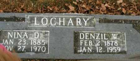 LOCHARY, NINA D. - Boone County, Arkansas | NINA D. LOCHARY - Arkansas Gravestone Photos