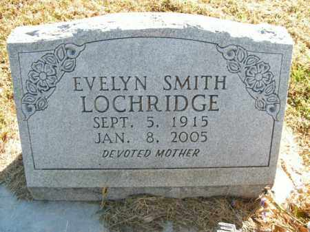 LOCHRIDGE, EVELYN - Boone County, Arkansas | EVELYN LOCHRIDGE - Arkansas Gravestone Photos