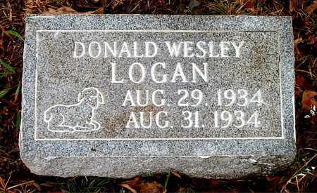 LOGAN, DONALD WESLEY - Boone County, Arkansas | DONALD WESLEY LOGAN - Arkansas Gravestone Photos