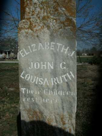 LOGAN, ELIZABETH - Boone County, Arkansas | ELIZABETH LOGAN - Arkansas Gravestone Photos