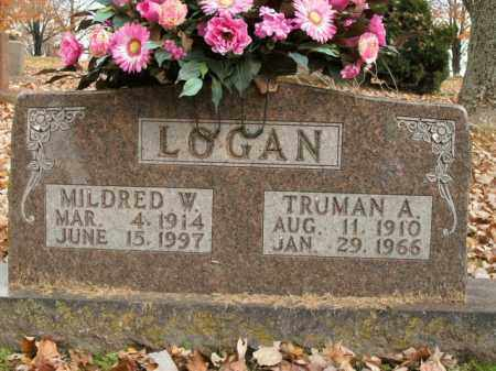 LOGAN, MILDRED W. - Boone County, Arkansas | MILDRED W. LOGAN - Arkansas Gravestone Photos