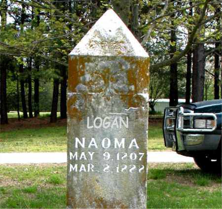 LOGAN, NAOMA - Boone County, Arkansas | NAOMA LOGAN - Arkansas Gravestone Photos