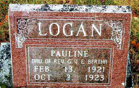 LOGAN, PAULINE - Boone County, Arkansas | PAULINE LOGAN - Arkansas Gravestone Photos