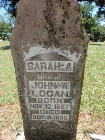 LOGAN, SARAH AMANDA - Boone County, Arkansas | SARAH AMANDA LOGAN - Arkansas Gravestone Photos