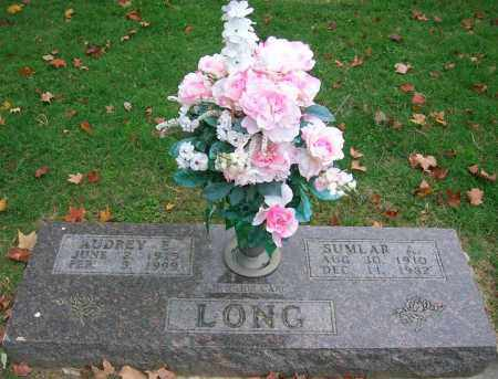 LOUDERMILK LONG, AUDREY E. - Boone County, Arkansas | AUDREY E. LOUDERMILK LONG - Arkansas Gravestone Photos