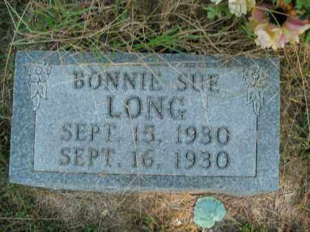 LONG, BONNIE SUE - Boone County, Arkansas | BONNIE SUE LONG - Arkansas Gravestone Photos