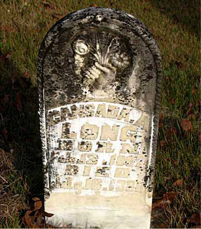 LONG, CANSADA A. - Boone County, Arkansas | CANSADA A. LONG - Arkansas Gravestone Photos
