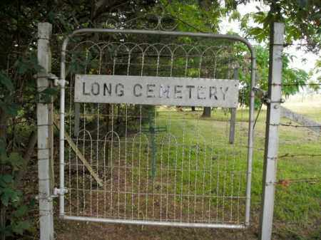 *LONG CEMETERY ENTRANCE GATE,  - Boone County, Arkansas |  *LONG CEMETERY ENTRANCE GATE - Arkansas Gravestone Photos