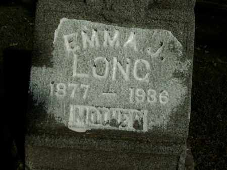 LONG, EMMA J. - Boone County, Arkansas | EMMA J. LONG - Arkansas Gravestone Photos