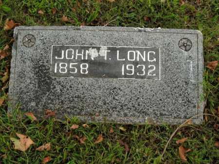LONG, JOHN T. - Boone County, Arkansas | JOHN T. LONG - Arkansas Gravestone Photos