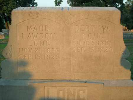 LONG, BERT W. - Boone County, Arkansas | BERT W. LONG - Arkansas Gravestone Photos