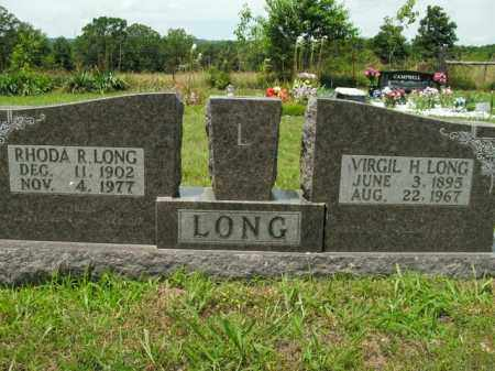 LONG, RHODA R. - Boone County, Arkansas | RHODA R. LONG - Arkansas Gravestone Photos