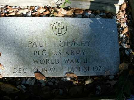 LOONEY  (VETERAN WWII), PAUL - Boone County, Arkansas | PAUL LOONEY  (VETERAN WWII) - Arkansas Gravestone Photos