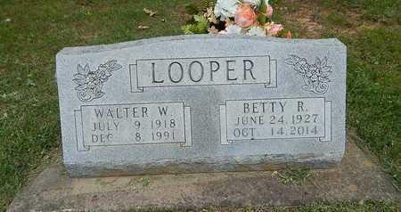 LOOPER, WALTER  W. - Boone County, Arkansas | WALTER  W. LOOPER - Arkansas Gravestone Photos