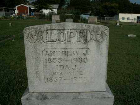 LOPP, IDA J. - Boone County, Arkansas | IDA J. LOPP - Arkansas Gravestone Photos
