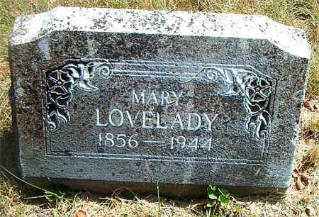 LOVELADY, MARY - Boone County, Arkansas | MARY LOVELADY - Arkansas Gravestone Photos