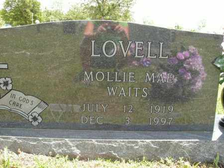 WAITS LOVELL, MOLLIE MAE - Boone County, Arkansas | MOLLIE MAE WAITS LOVELL - Arkansas Gravestone Photos