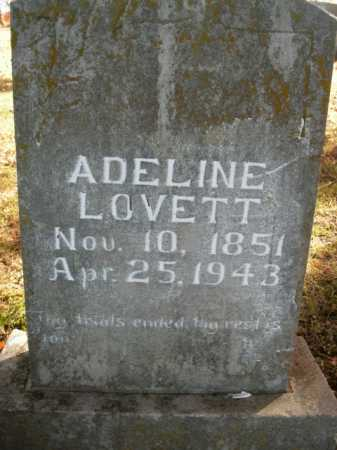 LOVETT, ADELINE - Boone County, Arkansas | ADELINE LOVETT - Arkansas Gravestone Photos