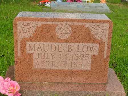 LOW, MAUDE BEATRICE - Boone County, Arkansas   MAUDE BEATRICE LOW - Arkansas Gravestone Photos