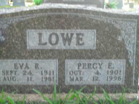LOWE, PERCY E. - Boone County, Arkansas | PERCY E. LOWE - Arkansas Gravestone Photos