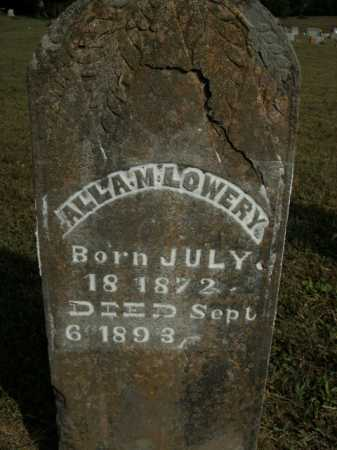 LOWERY, ALLA M. - Boone County, Arkansas | ALLA M. LOWERY - Arkansas Gravestone Photos