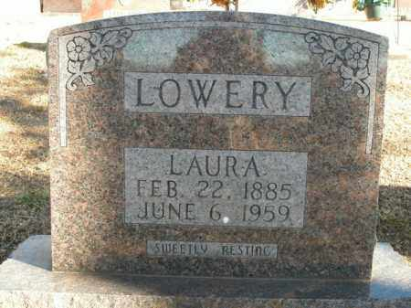LOWERY, LAURA - Boone County, Arkansas | LAURA LOWERY - Arkansas Gravestone Photos