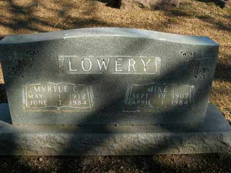 LOWERY, MYRTLE C. - Boone County, Arkansas | MYRTLE C. LOWERY - Arkansas Gravestone Photos