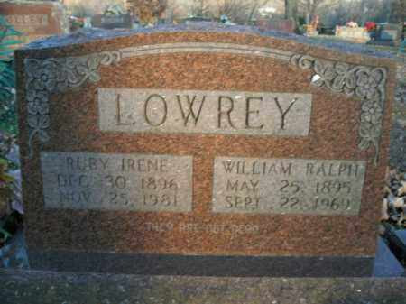 LOWREY, RUBY IRENE - Boone County, Arkansas | RUBY IRENE LOWREY - Arkansas Gravestone Photos