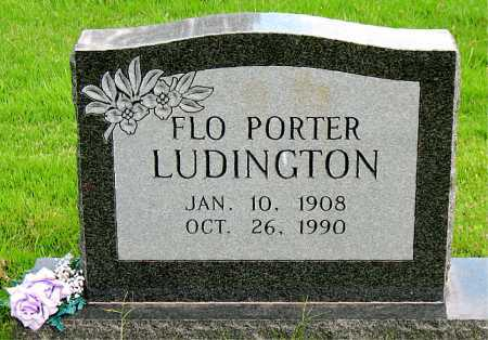 PORTER LUDINGTON, FLO - Boone County, Arkansas | FLO PORTER LUDINGTON - Arkansas Gravestone Photos