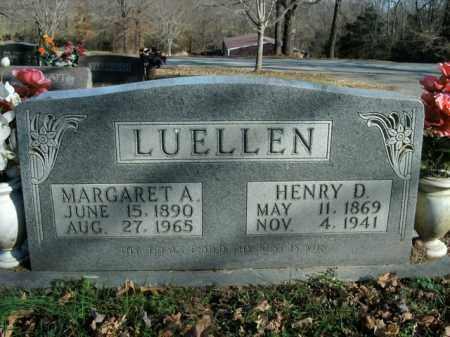 LUELLEN, MARGARET A. - Boone County, Arkansas | MARGARET A. LUELLEN - Arkansas Gravestone Photos