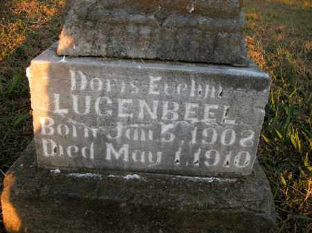 LUGENBEEL, DORIS EVELYN - Boone County, Arkansas | DORIS EVELYN LUGENBEEL - Arkansas Gravestone Photos