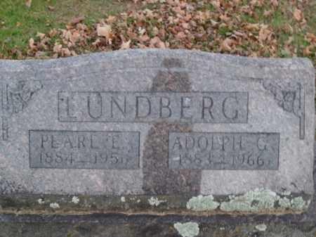 LUNDBERG, ADOLPH G. - Boone County, Arkansas | ADOLPH G. LUNDBERG - Arkansas Gravestone Photos