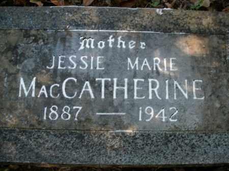 MACCATHERINE, JESSIE MARIE - Boone County, Arkansas | JESSIE MARIE MACCATHERINE - Arkansas Gravestone Photos