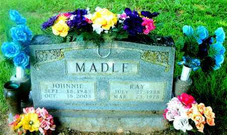 MADLE, JOHNNIE - Boone County, Arkansas | JOHNNIE MADLE - Arkansas Gravestone Photos
