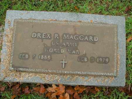 MAGGARD  (VETERAN WWI), DREXEL  RILEY - Boone County, Arkansas | DREXEL  RILEY MAGGARD  (VETERAN WWI) - Arkansas Gravestone Photos