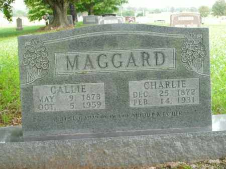 MAGGARD, CALLIE - Boone County, Arkansas | CALLIE MAGGARD - Arkansas Gravestone Photos