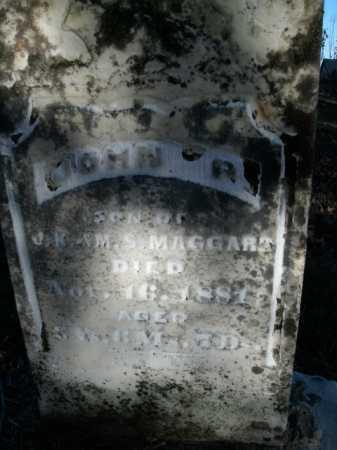 MAGGARD, JOHN P. - Boone County, Arkansas | JOHN P. MAGGARD - Arkansas Gravestone Photos