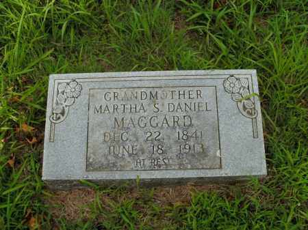 DANIEL MAGGARD, MARTHA S. - Boone County, Arkansas | MARTHA S. DANIEL MAGGARD - Arkansas Gravestone Photos