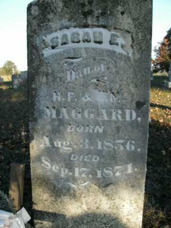 MAGGARD, SARAH E. - Boone County, Arkansas | SARAH E. MAGGARD - Arkansas Gravestone Photos