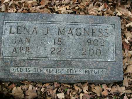 MAGNESS, LENA J. - Boone County, Arkansas | LENA J. MAGNESS - Arkansas Gravestone Photos