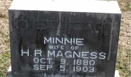 MAGNESS, MINNIE - Boone County, Arkansas | MINNIE MAGNESS - Arkansas Gravestone Photos