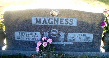 MAGNESS, PHYLLIS  INEZ - Boone County, Arkansas | PHYLLIS  INEZ MAGNESS - Arkansas Gravestone Photos