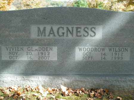 MAGNESS, WOODROW WILSON - Boone County, Arkansas | WOODROW WILSON MAGNESS - Arkansas Gravestone Photos