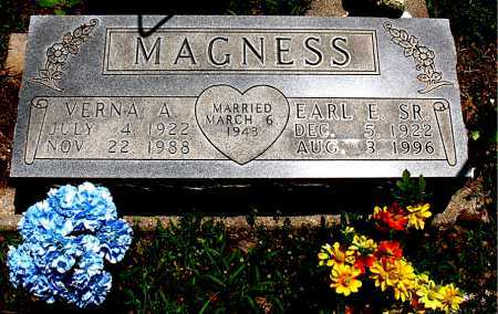 MAGNESS, VERNA A. - Boone County, Arkansas | VERNA A. MAGNESS - Arkansas Gravestone Photos