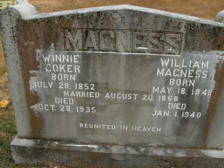 MAGNESS, WINNIE - Boone County, Arkansas | WINNIE MAGNESS - Arkansas Gravestone Photos