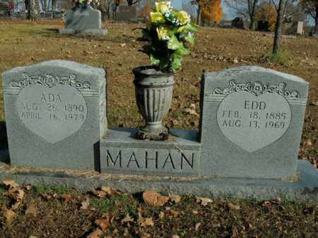 MAHAN, ADA - Boone County, Arkansas | ADA MAHAN - Arkansas Gravestone Photos