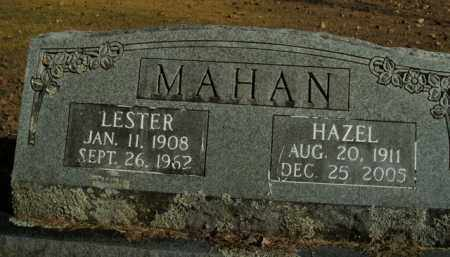 MAHAN, LESTER - Boone County, Arkansas | LESTER MAHAN - Arkansas Gravestone Photos
