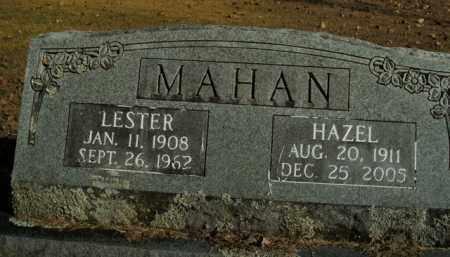 MAHAN, LESTER - Boone County, Arkansas | LESTER MAHAN - Arkansas Gravestone Photos