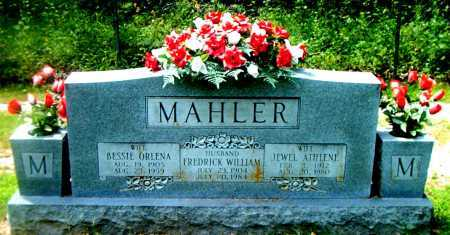 MAHLER, FREDRICK WILLIAM - Boone County, Arkansas | FREDRICK WILLIAM MAHLER - Arkansas Gravestone Photos